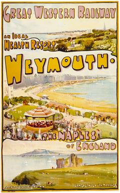 Weymouth vintage travel posters