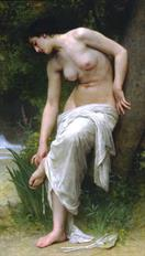 William Adolphe Bouguereau Apres le bain