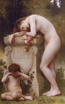 William-Adolphe Bouguereau Douleur damour