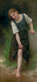 William-Adolphe Bouguereau La Gue