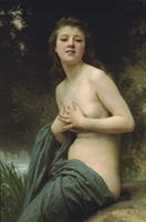 William-Adolphe Bouguereau La brie du printemps