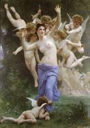 William-Adolphe Bouguereau Le guepier