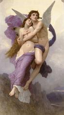William-Adolphe Bouguereau Le ravissement de Psyche