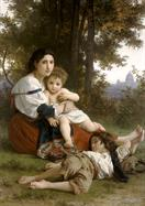 William-Adolphe Bouguereau Le repos
