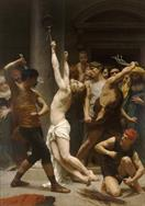 William-Adolphe Bouguereau The Flagellation of Christ