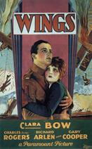 Wings 1927 movie poster