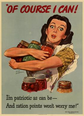 Conservation Food Canning war poster