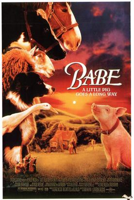 babe 1995 movie poster