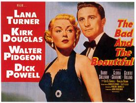 bad and the beautiful 1952 movie poster