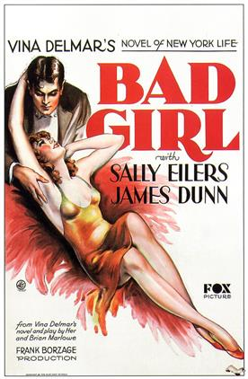 bad girl 1932 movie poster