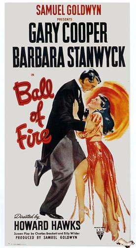 ball of fire 1941 movie poster