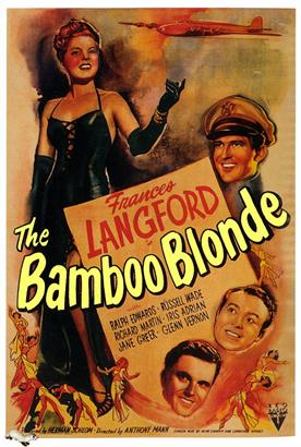 bamboo blonde 1946 movie poster
