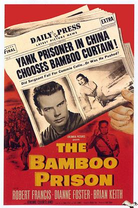 bamboo prison 1955 movie poster