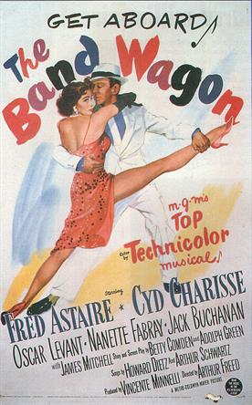 band wagon 1953 movie poster