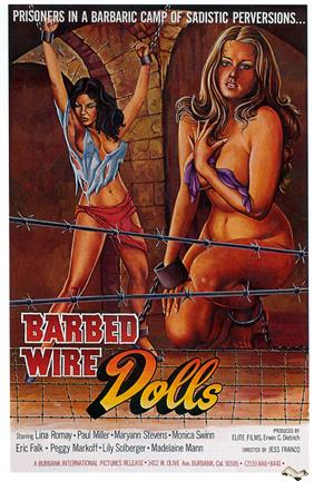 barbed wire dolls 1975 movie poster