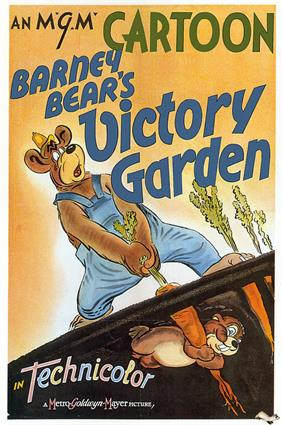 barney bears victory garden 1942 movie poster