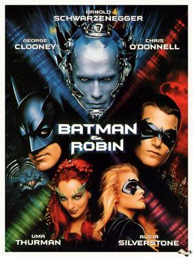 batman and robin 1997 movie poster
