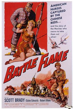 battle flame 1959 movie poster