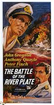 battle of the river plate 195 movie poster