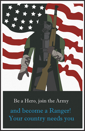 be a hero join the army war poster