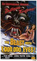 beast with 1000000 eyes 1955 movie poster