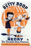 betty boop with henry 1935 movie poster