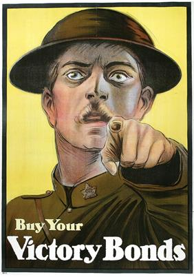 buy your victory bonds war poster