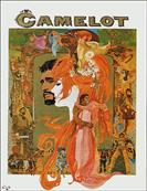 camelot 1967 movie poster