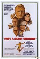 cast a giant shadow 1966 movie poster