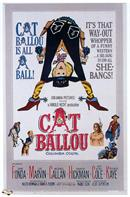 cat ballou 1965 movie poster