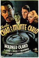 charlie chan at monte carlo 1937 movie poster