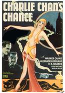 charlie chans chance 1932 movie poster