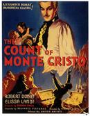 count of  monte cristo 1934 movie poster