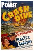 crash dive 1942 movie poster