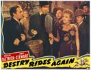 destry rides again 1939 movie poster