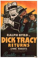 dick tracy returns 1938 movie poster