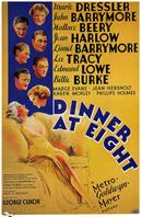 dinner at eight 1933 movie poster