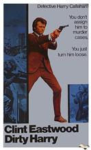 dirty harry 1971 movie poster