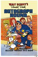 donald duck autograph hound 1939 movie poster