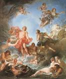 francois boucher The Rising of the Sun