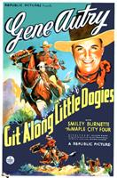 git along little dogies 1937 movie poster