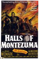 halls of montezuma 1951 movie poster