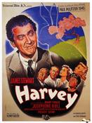 harvey 1950 france movie poster