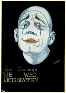he who gets slapped 1924 movie poster