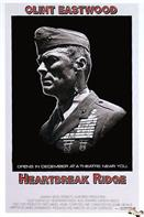 heartbreak ridge 1986 movie poster