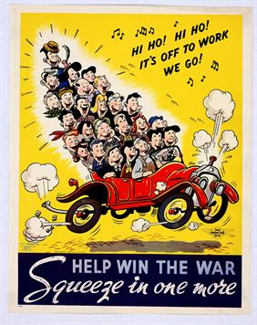 help win the war squeeze in 1 more war poster