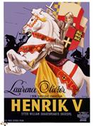 henry v 1946 sweden movie poster