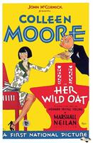 her wild oat 1927 movie poster