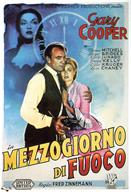 high noon 1952 italia movie poster