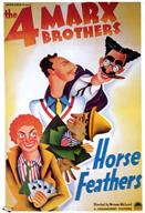 horse feathers 1932 movie poster